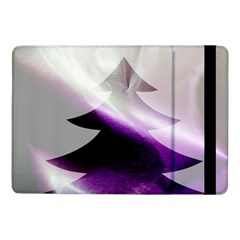 Purple Christmas Tree Samsung Galaxy Tab Pro 10.1  Flip Case