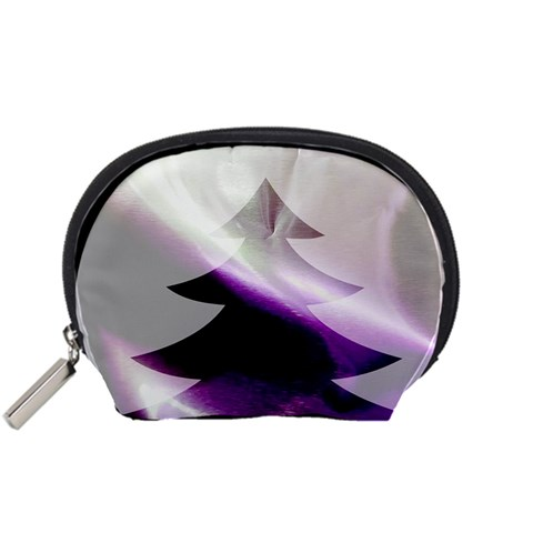 Purple Christmas Tree Accessory Pouches (Small)