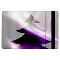 Purple Christmas Tree iPad Air Flip