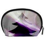 Purple Christmas Tree Accessory Pouches (Large)  Back