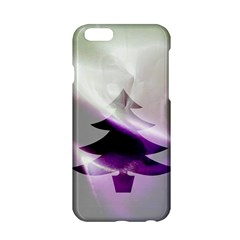 Purple Christmas Tree Apple iPhone 6/6S Hardshell Case