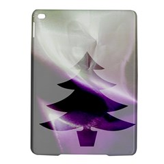Purple Christmas Tree iPad Air 2 Hardshell Cases