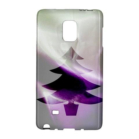 Purple Christmas Tree Galaxy Note Edge