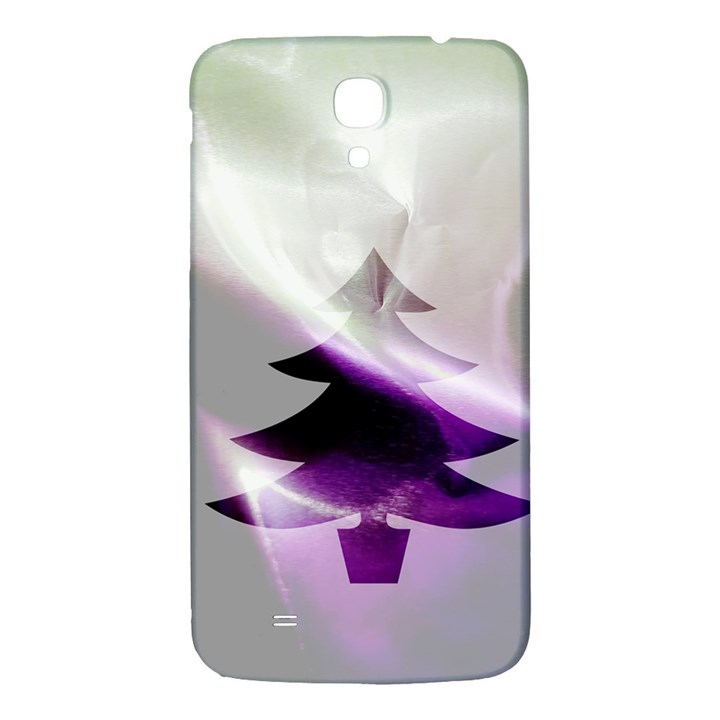 Purple Christmas Tree Samsung Galaxy Mega I9200 Hardshell Back Case
