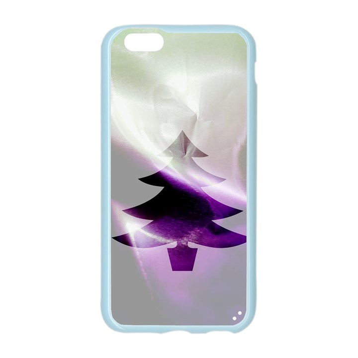 Purple Christmas Tree Apple Seamless iPhone 6/6S Case (Color)