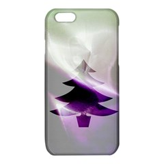 Purple Christmas Tree iPhone 6/6S TPU Case