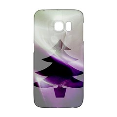 Purple Christmas Tree Galaxy S6 Edge