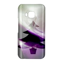 Purple Christmas Tree HTC One M9 Hardshell Case