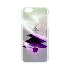 Purple Christmas Tree Apple Seamless iPhone 6/6S Case (Transparent)