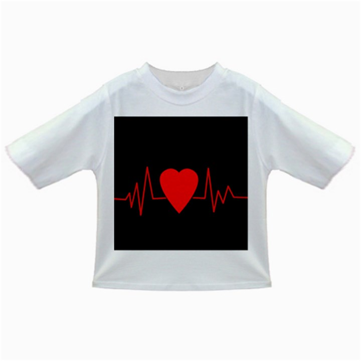 Hart bit Infant/Toddler T-Shirts