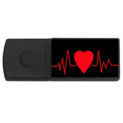 Hart bit USB Flash Drive Rectangular (2 GB)