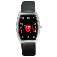 Hart bit Barrel Style Metal Watch