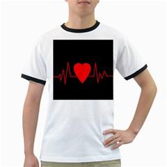 Hart Bit Ringer T Shirts