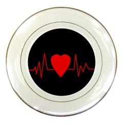 Hart bit Porcelain Plates