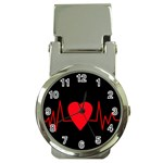 Hart bit Money Clip Watches Front