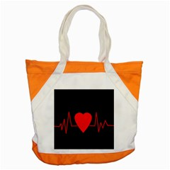 Hart bit Accent Tote Bag