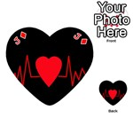 Hart bit Playing Cards 54 (Heart)  Front - DiamondJ