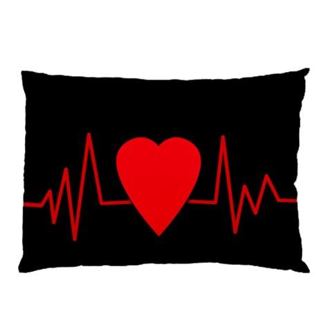 Hart bit Pillow Case