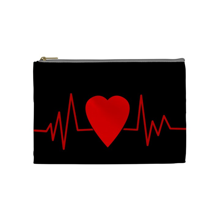 Hart bit Cosmetic Bag (Medium)