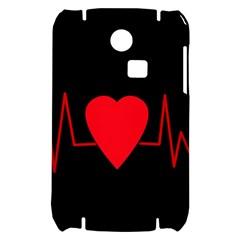 Hart bit Samsung S3350 Hardshell Case