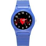Hart bit Round Plastic Sport Watch (S) Front