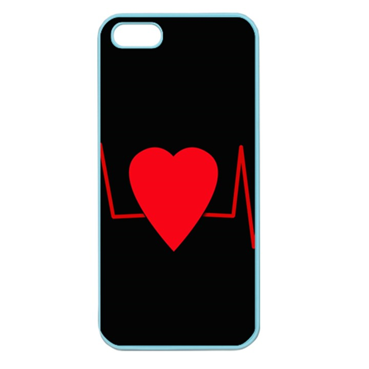 Hart bit Apple Seamless iPhone 5 Case (Color)