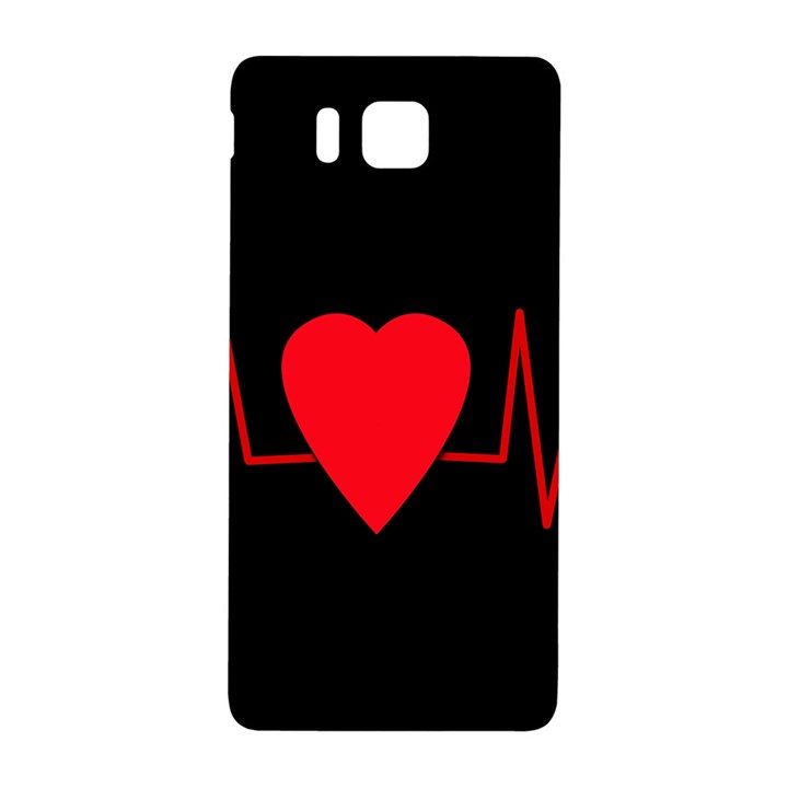 Hart bit Samsung Galaxy Alpha Hardshell Back Case