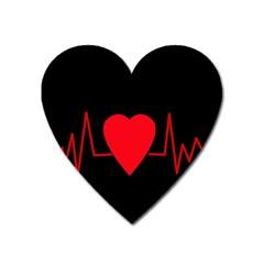 Hart Bit Heart Magnet