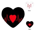 Hart bit Playing Cards (Heart)  Front