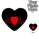Hart bit Multi-purpose Cards (Heart)  Back 43