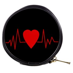 Hart bit Mini Makeup Bags