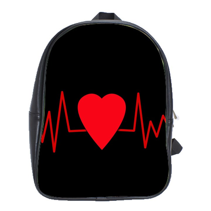 Hart bit School Bags(Large)