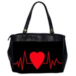 Hart bit Office Handbags (2 Sides)  Back