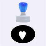 Hart bit Rubber Oval Stamps 1.88 x1.37  Stamp