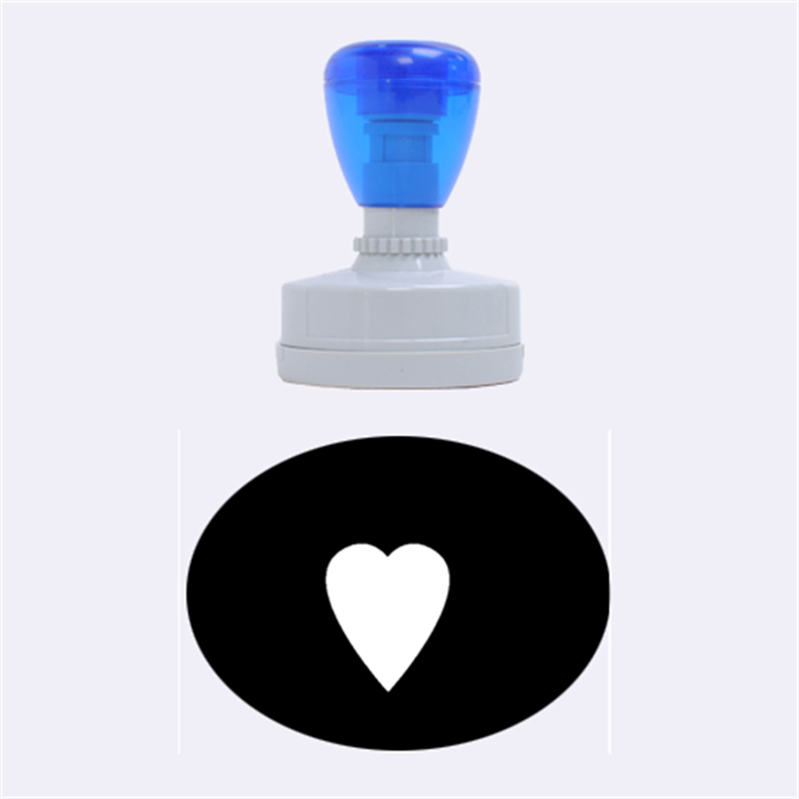 Hart bit Rubber Oval Stamps