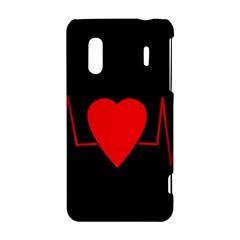 Hart bit HTC Evo Design 4G/ Hero S Hardshell Case