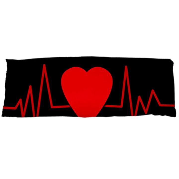 Hart bit Body Pillow Case (Dakimakura)