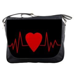 Hart Bit Messenger Bags