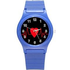 Hart Bit Round Plastic Sport Watch (s)