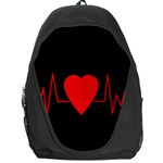 Hart bit Backpack Bag Front