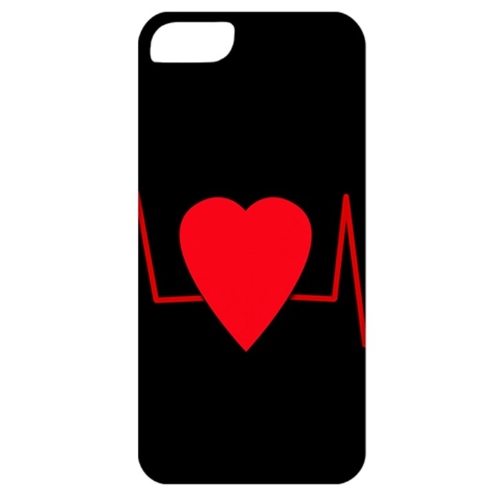 Hart bit Apple iPhone 5 Classic Hardshell Case