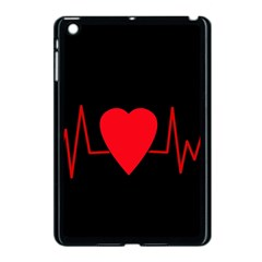 Hart bit Apple iPad Mini Case (Black)