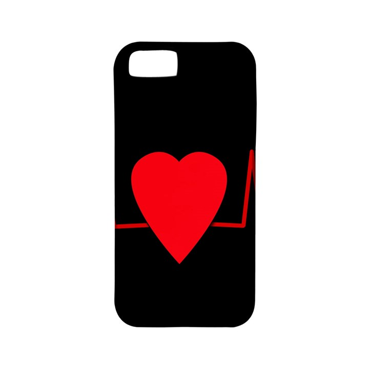 Hart bit Apple iPhone 5 Classic Hardshell Case (PC+Silicone)