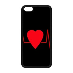 Hart Bit Apple Iphone 5c Seamless Case (black)