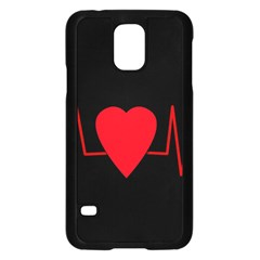 Hart Bit Samsung Galaxy S5 Case (black)