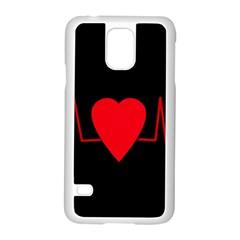 Hart Bit Samsung Galaxy S5 Case (white)