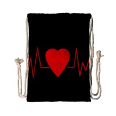 Hart Bit Drawstring Bag (small)