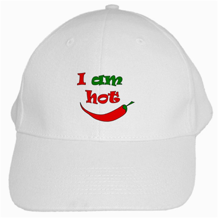 I am hot  White Cap