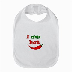 I am hot  Bib