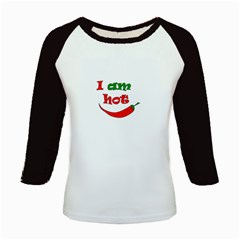 I Am Hot  Kids Baseball Jerseys